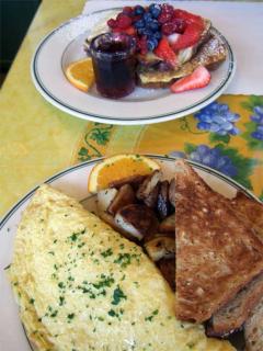 Northern Italian Omlette & French Toast Sampler