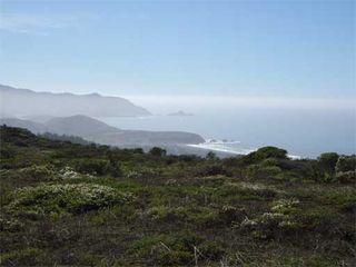 View of Mori Point from Milagra Ridge