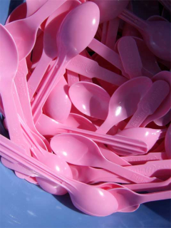 Pretty Pink Spoons