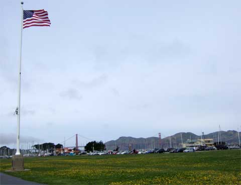 Crissy Field & Golden Gate Bridge