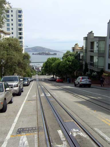 Cable Car Line & Alcatraz